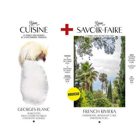 Yannick Alléno Magazine - Abonnement couplé YAM Cuisine + YAM Savoir-Faire