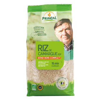 Priméal - Organic half round rice from Camargue