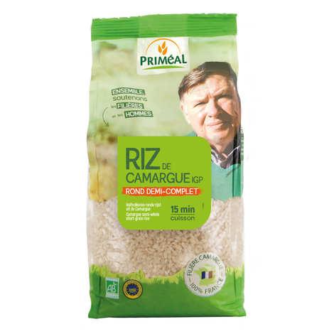 Priméal - Organic half round rice from Camargue