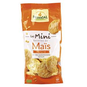 Priméal - Mini galettes de maïs Bio