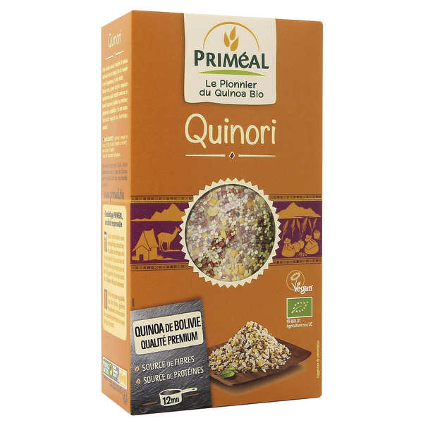 Organic quinori - rice and quinoa mix
