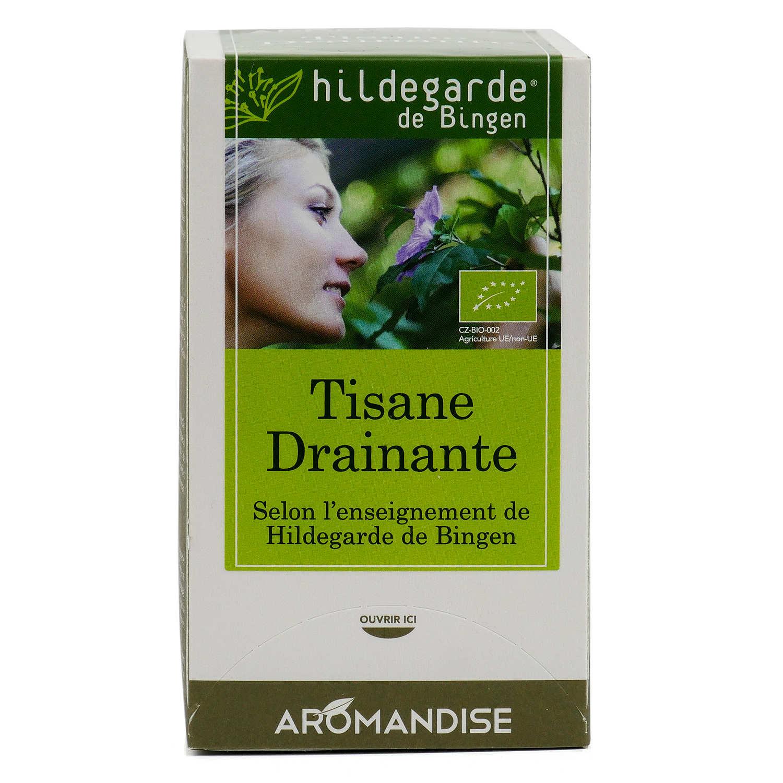Organic detoxifying herbal tea
