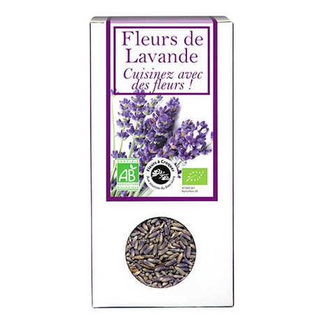 Aromandise - Fleurs de lavande comestible bio pour infusion et cuisine