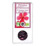 Aromandise - Pétales d'hibiscus bio - Fleurs à croquer et à cuisiner