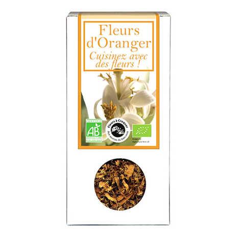 Aromandise - Fleurs d'oranger comestible bio pour infusion et cuisine