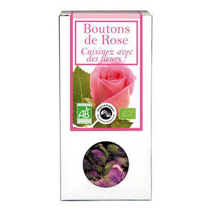 Aromandise - Organic edible rosebuds