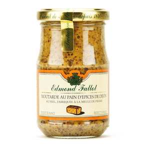 Fallot - Dijon Mustard with Honey & Gingerbread