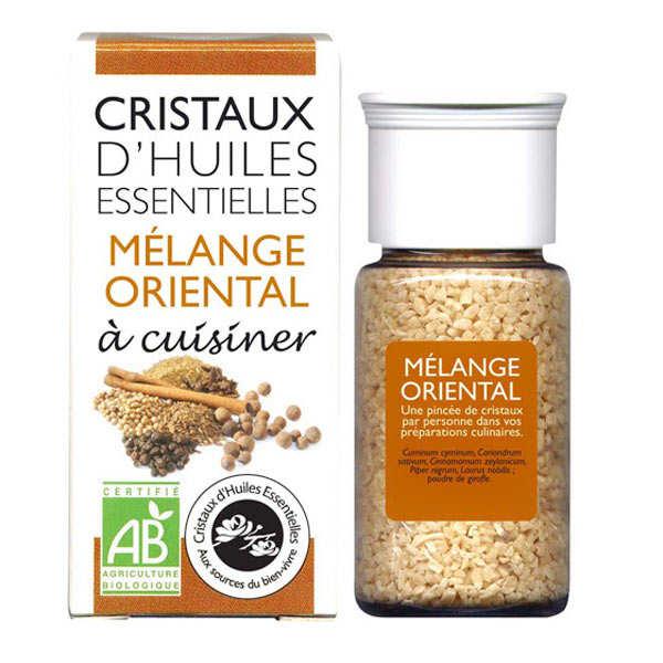 Mélange oriental - Cristaux d'huiles essentielles à cuisiner - Bio