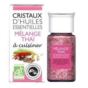 Aromandise - Mélange thaï- Cristaux d'huiles essentielles à cuisiner - Bio
