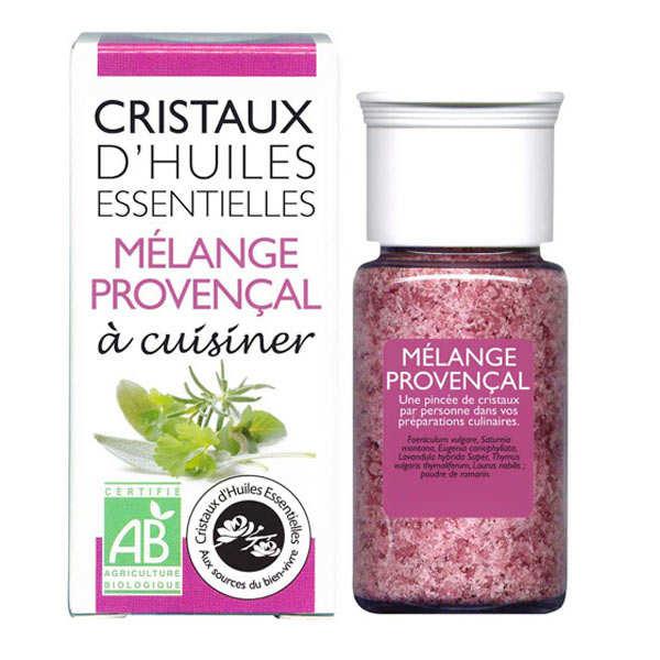 Mélange provençal - Cristaux d'huiles essentielles à cuisiner - Bio
