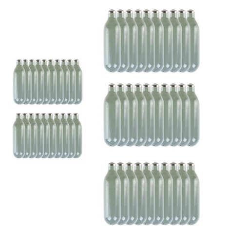 Mosa - 40 cartouches de 8g de N2O pour siphon chantilly + 10 offertes