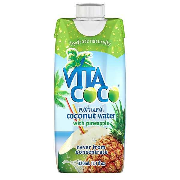 Vita coco - Eau de coco à l'Ananas