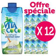 Vita Coco - Vita coco - 100% pure eau de coco - Le lot de 12 bouteilles
