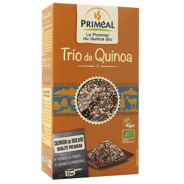 Organic 3 quinoas mix