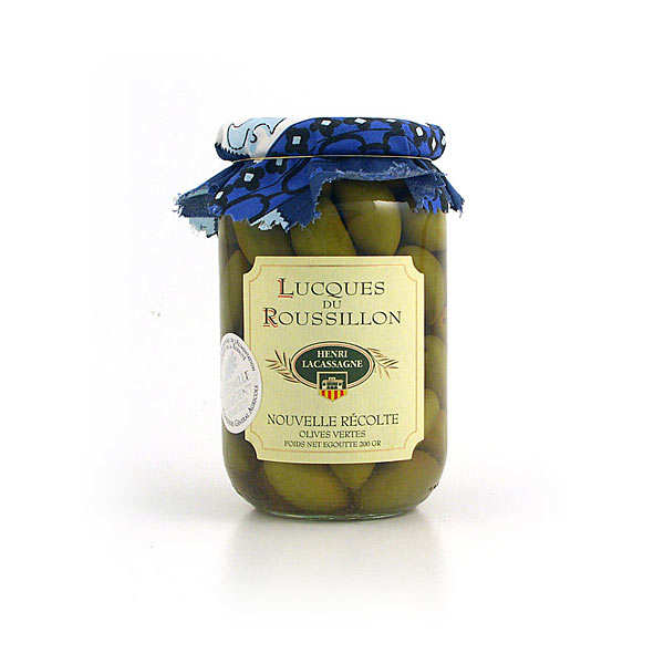 Olives - Lucques from Roussillon
