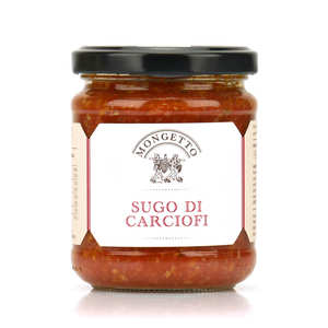 Il Mongetto - Sauce tomate artisanale italienne aux artichauts (Sugo di carciofi)