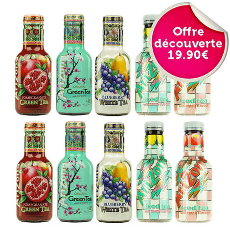 Arizona Iced Tea - Offre découverte boissons Arizona