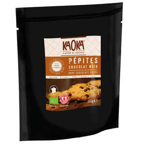 Kaoka - Pépites de chocolat noir bio