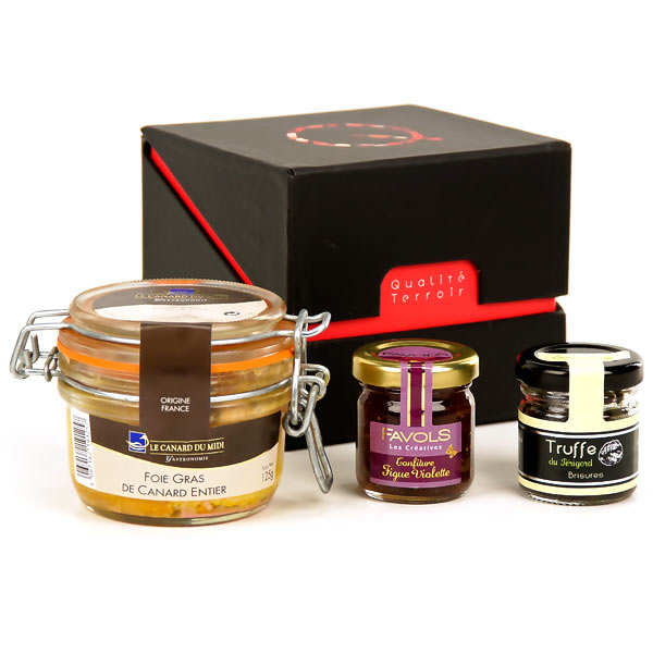 coffret foie gras gourmand bienmanger paniers garnis. Black Bedroom Furniture Sets. Home Design Ideas