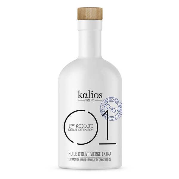 Huile d'olive vierge extra de Grèce - 01 Caractère - Kalios