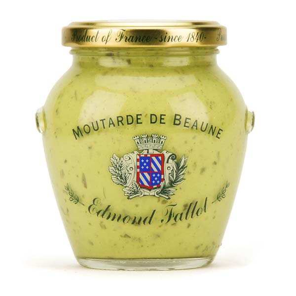 Moutarde de Beaune verte à l'estragon