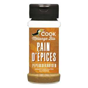Cook - Herbier de France - Organic gingerbread seasoning