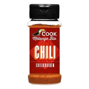 Cook - Herbier de France - Mélange d'épices pour Chili bio