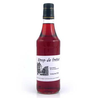 Gaec d'Ispagnac - Martine Boyer - Sirop de fraise artisanal 100% naturel