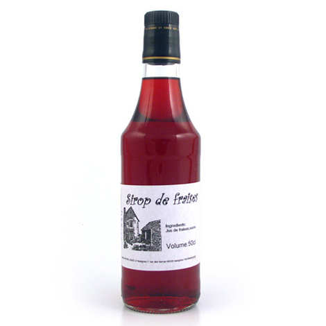 Gaec d'Ispagnac - Martine Boyer - Strawberry sirup