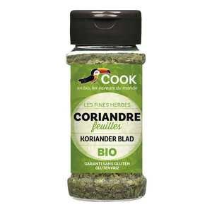 Cook - Herbier de France - Feuilles de coriandre déshydratées bio
