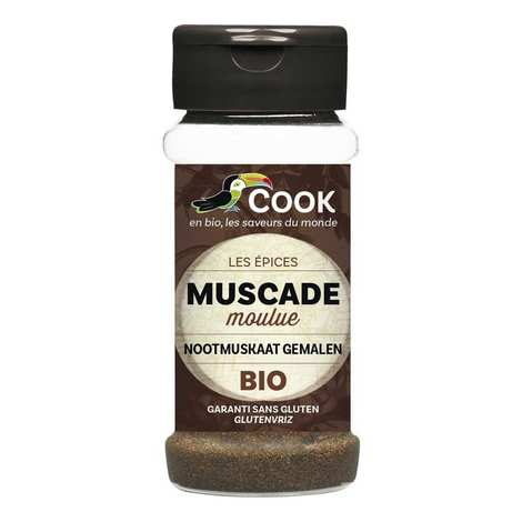 Cook - Herbier de France - Muscade moulue bio