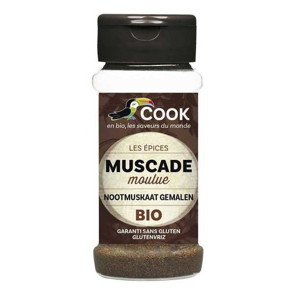Muscade moulue bio