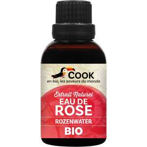 Cook - Herbier de France - Organic Rose Water