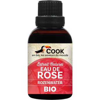 Cook - Herbier de France - Eau de rose bio