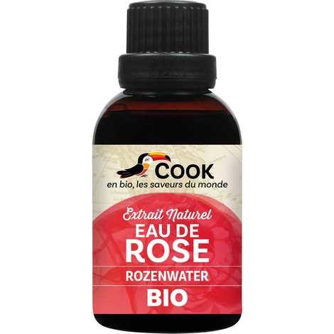 Cook - Herbier de France - Eau de rose bio