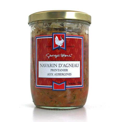 Georges Blanc - Navarin d'agneau printanier aux aubergines