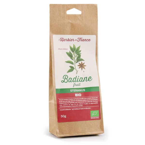 Badiane bio (anis étoilée entière) - sachet 50g