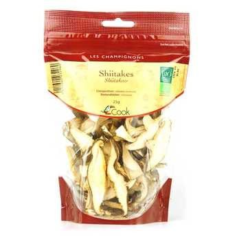 Cook - Herbier de France - Organic Shiitakes