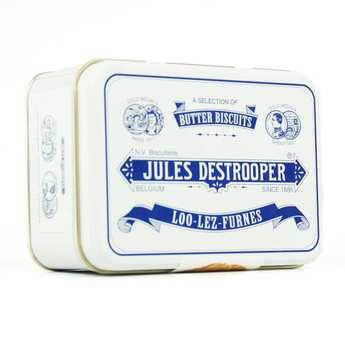 Biscuiterie Jules Destrooper - Boite collector de biscuits au beurre Destrooper