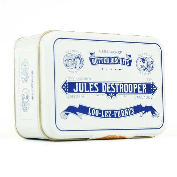 Boite collector de biscuits au beurre Destrooper