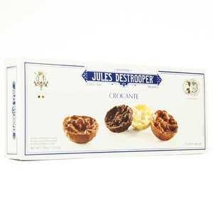 Biscuiterie Jules Destrooper - Florentines aux noisettes et au riz croustillant