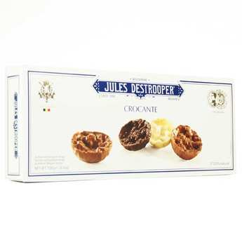Biscuiterie Jules Destrooper - Hazelnut florentines with crispy rice