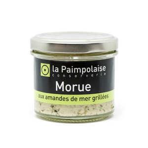 La Paimpolaise - Fresh Cod Rillettes with Grilled Sea Almonds