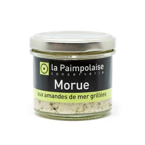 La Paimpolaise - Rillettes de Morue fraîche aux amandes de mer grillées