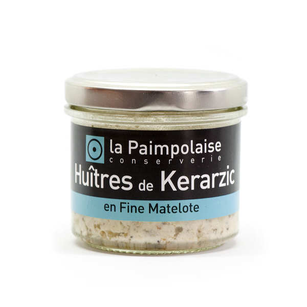 Rillettes d'huître de Kerarzic en fine matelote