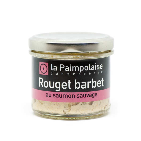 Rillettes Rouget barbet au saumon sauvage