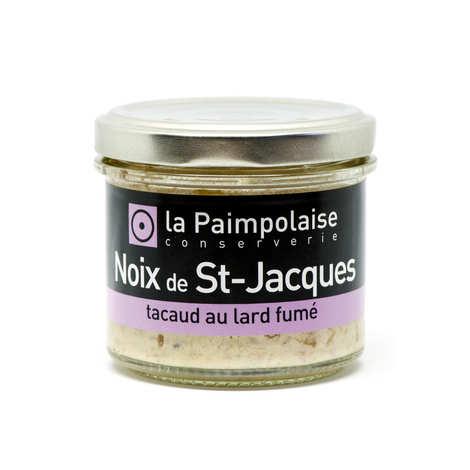 La Paimpolaise - Rillettes de noix de St-Jacques et tacaud au lard fumé