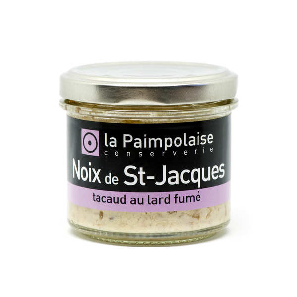 Rillettes nuts St. Jacques and smoked bacon pout