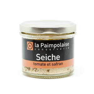 La Paimpolaise - Rillettes de seiche à la tomate et au safran