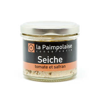 La Paimpolaise - Rillettes squid with tomato and saffron
